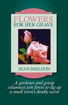 flowers for her grave - jean sheldon