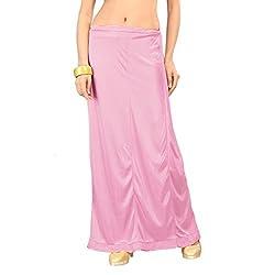 Freya Womens Petticoat (PT_BPK_Baby-pink_Free Size)