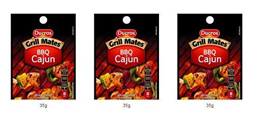 DUCROS - Melanges - BBQ - BBQ cajun - 35 g - lot de 3