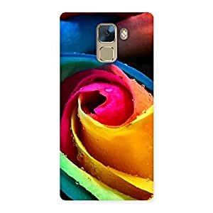 Special Rose Droplets Multicolor Back Case Cover for Huawei Honor 7