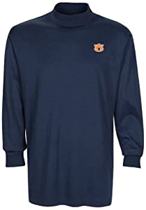 NCAA Auburn Tigers Mens Carlow Mock Turtleneck, Classic Navy, Large by Oxford