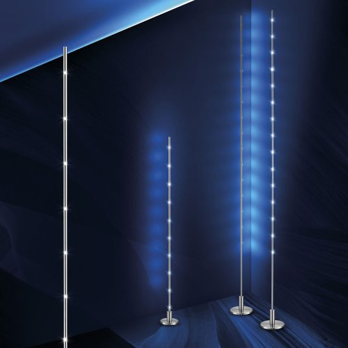 licht trend led stehlampe stick eckig 15 watt 180cm. Black Bedroom Furniture Sets. Home Design Ideas