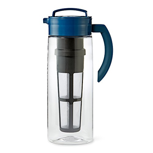 Large Blue Infusion Tea Pitcher (Teavana Infuser Pitcher compare prices)