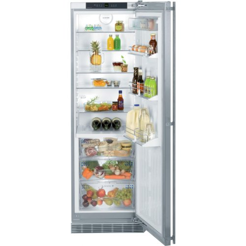 Liebherr RB1410 11.9 Cu. Ft. Stainless Steel Counter Depth Built-In All Refrigerator Refrigerator - Energy Star