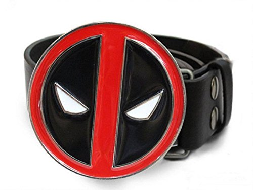 [Deadpool X-Men Superhero mens Metal Belt Costume Cosplay Props] (Storm X Men Costume Comic)