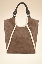 Limited Collection Shearling Shopper Bag [T83-6489L-S]