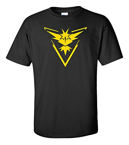 Pokemon Go Team Instinct Black Shirt (Medium)