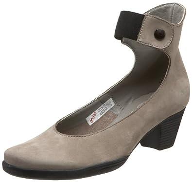 Arche Women's Gayal Ankle-Wrap Pump,Grigio,36.5 EU/5.5 M US