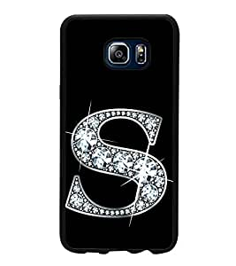 Alphabet S 2D Hard Polycarbonate Designer Back Case Cover for Samsung Galaxy Note5 :: Samsung Galaxy Note5 N920G :: Samsung Galaxy Note5 N920T N920A N920I