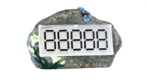 Solar Ed Decorative Stone Address Entrance Marker