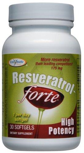 Resveratrol Forte Enzymatic Therapy Inc. 30 Softgel
