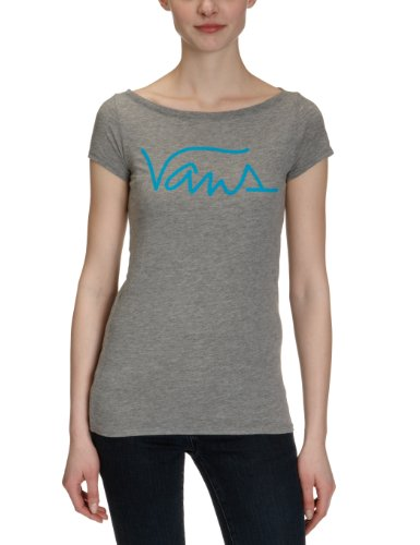 Vans-Reincarnate, Maglietta da donna, vo9gg, Donna, T-shirt Reincarnate, Grigio erica, XS