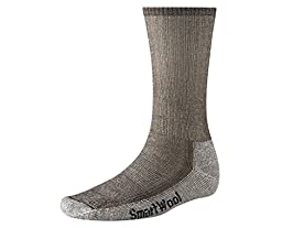 Smartwool Men\'s Hiking Medium Crew Sock (X-Large, Dark Brown)