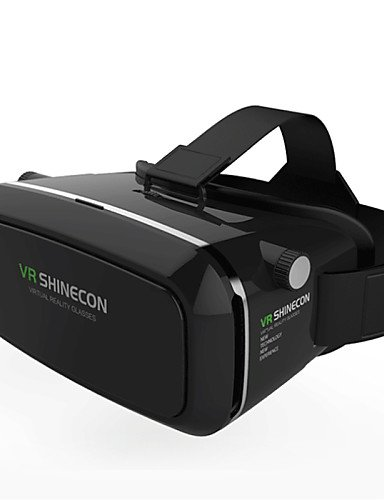 House 2016 VR BOX Shinecon Virtual Reality 3D Glasses Cardboard 2.0 VR Headset (Black Color)