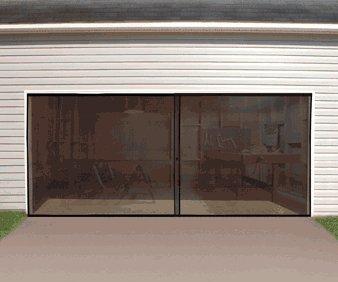 Jobar Double Garage Door Screen (Double Garage Door Screen compare prices)
