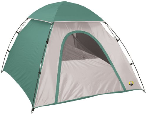 Stansport-Adventure-Backpackers-Dome-Tent-Forest-GreenTan-78-X-66-X-43-Inch