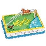Horses Cake Topper