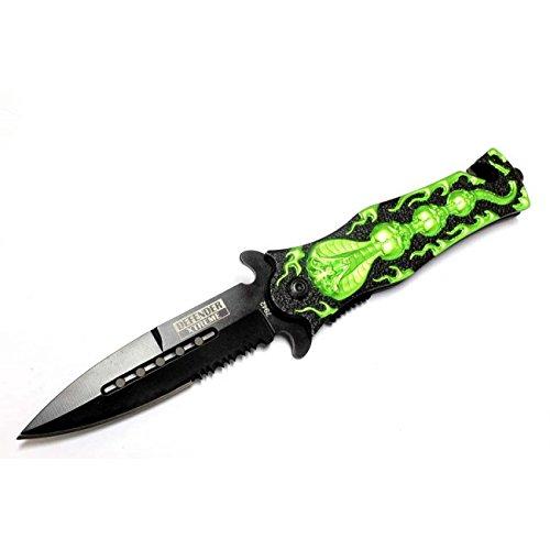 Knife With Leather Sheath