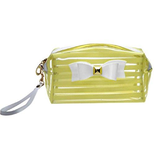 Vovotrade®Sac de rangement étanche sac cosmétique (Jaune)