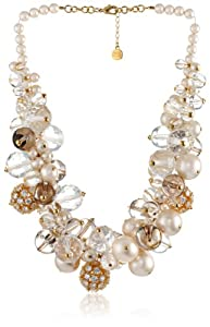 "Carolee LUX ""Barcelona Baubles"" Cluster Drama Necklace, 20"""