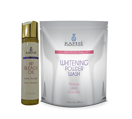 2lbs Intensive Bleaching Powder Wash Plus High Potency Bleach Oil 60ml. Strong Powder Wash That Helps Clear All Forms of Sturborn or Resistant Discolorations and Other Epidermal Dermatosis. Sprinkle a Small Amount to a Wet Sponge and Wash Gently. Rinse Off Excess Lather Prior to Towel Dry.. Do Not Use This Product If You Are Allergic to Sulfur. Contains Maximum Concentration of Bleaching Agents in Powder Form with Lauryl Sulfate As a Soap Carrier. This Soap Gives You the Added Benefit of Expediting the Skin Eveness and Clarity Where Bars and Body Washes Failed to Be Successful.