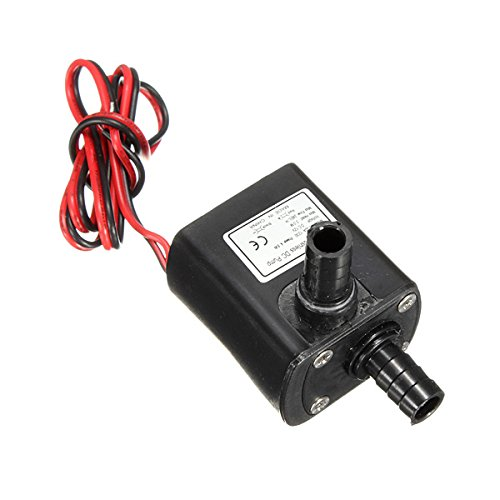 Mini Dc12V 3M Micro Quiet Brushless Motor Submersible Water Pump