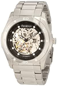 Armitron Men's 204406SVSV Stainless Steel Automatic Watch