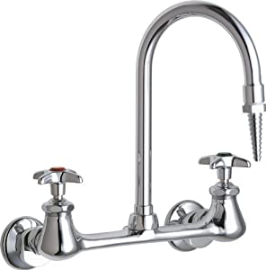 Laboratory Sink Faucet : Faucets 942-WSLCP Laboratory Sink Faucet - Bathroom Sink Faucets ...