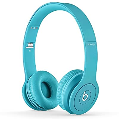 Beats by Dr. Dre Solo HD 08537 | On-Ear Headphone Drenched in Light Blue BT ON SOL DIC LBL
