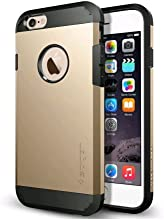 iPhone 6 Case, Spigen [HEAVY DUTY] Tough Armor Case for iPhone 6 (4.7-Inch) - Champagne Gold (SGP10970)