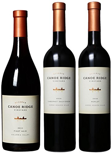 Canoe Ridge Reserve Reds Mixed Pack, 3 X 750 Ml