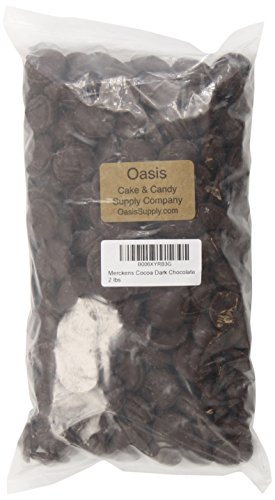 Oasis Supply Merckens, Cocoa Dark, 2 Pound