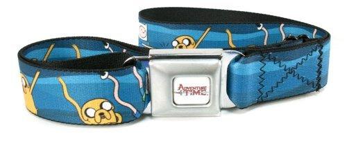 Adventure Time Dancing Finn & Jake Seat Belt Buckle Belt