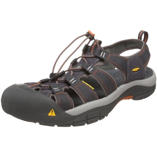 Keen Men's Newport H2 Sandal,India Ink/Rust,10.5 M US
