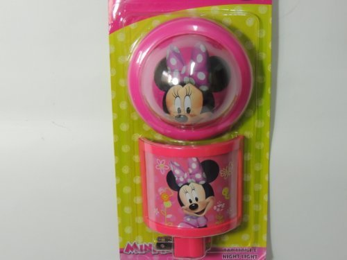 Disney Minnie Mouse Tap Light & Night Light - 1