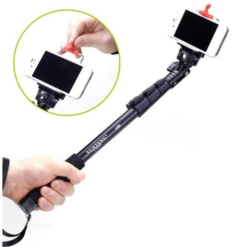 Extendable Camera Shooting Handheld Monopod Tripod Mount Holder For Iphone 5S 5C 5 4S 4 Ipod