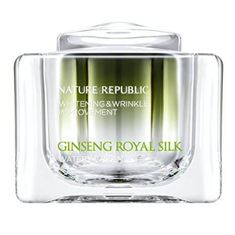 [NATURE REPUBLIC]GINSENG ROYAL SILK WATERY CREAM 60g(2.11oz)whitening&wrinkle improvement (Nature Cream compare prices)