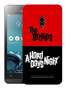 """Humor Gang The Beatles - A Hard Day'S Night Printed Designer Mobile Back Cover For """"Asus Zenfone 5"""" (3D, Matte, Premium Quality Snap On Case)"""