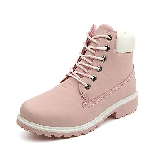 damen-worker-boots-winterstiefel-warme-stiefel-schone-prinzessin-rosa-eu-39