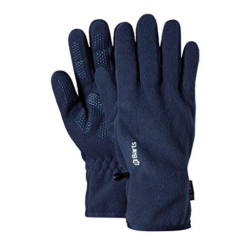 Barts Fleece Glove Guanti, Blu, Taglia S