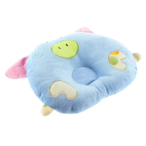 Xhan Soft Cotton Piggy Pig Shaped Baby Newborn Infant Toddler Sleeping Support Pillow front-931432