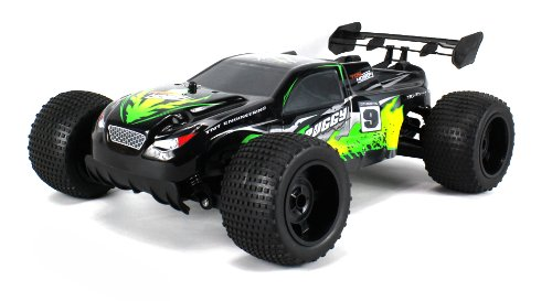 Velocity Toys Gdx-Ab Tnt Machine Electric Rc Truggy 15 Mph Pro 2.4Ghz Radio Control System Big Size 1:10 Scale Off Road Ready To Run Rtr High Performance, 4 Wheel Independent Suspension (Colors May Vary)