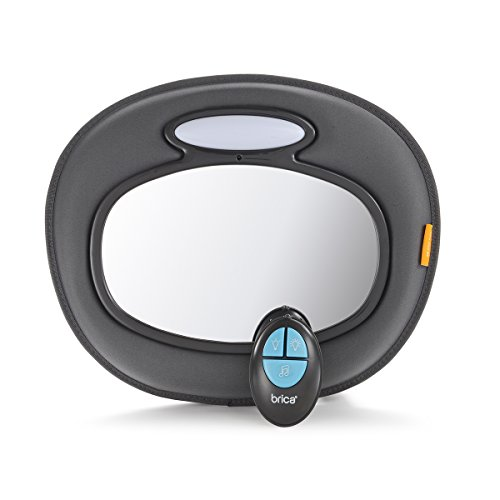 Brica Night Light Baby In-Sight Mirror (Car Mirror Baby Light compare prices)