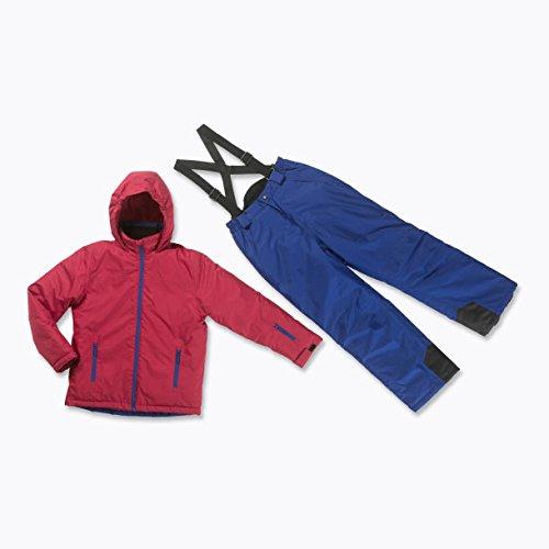 Skianzug 2tlg. Funktioneller Skianzug Für Jungen Gr. 164 Farbe. Chili/Blau Schneeanzug Thinsulate Skijacke günstig online kaufen