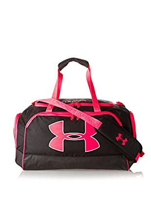 Under Armour Bolsa de deporte Watch Me (Negro / Fucsia)