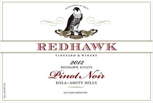 2012 Redhawk Pinot Noir Estate Eola-Amity Hills 750 Ml