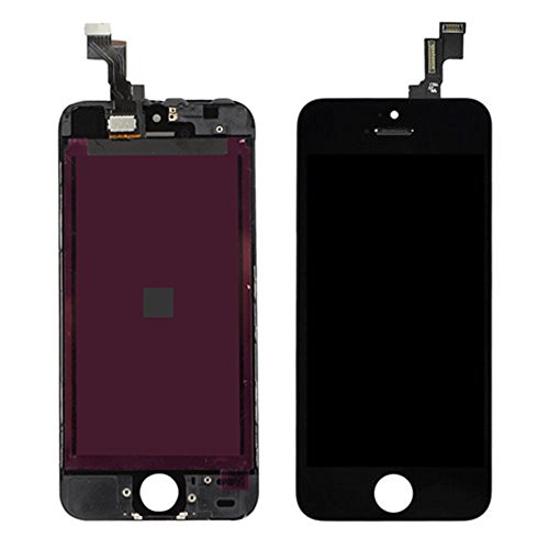 Black Lcd Display Touch Screen Digitizer Full Assembly With Tools For Iphone 5C front-1075685