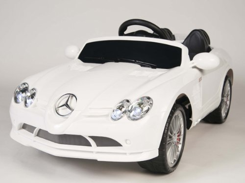 2014 Model 4Ch Remote Controlled Electric Licensed Mercedes Benz Ride-On Car For Kids Ages 2-4 With Lights & Music 2 Motors 12 Volts