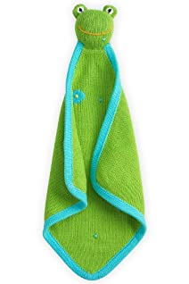 Joobles Organic Baby Blankie - Flop the Frog