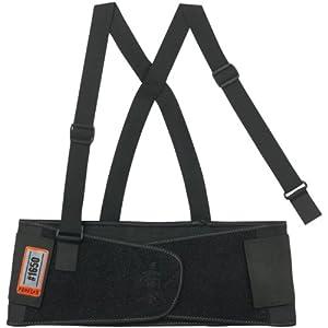 ProFlex 1650 Economy Elastic Back Support Belt, Black, Large